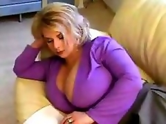 Luscious MILF Close to Massive Tits.