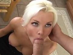Blue eyed blond sexy teacher