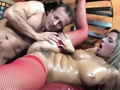 Bushy european milf Daria Glower receives drilled hard