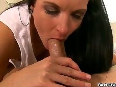 Nice-looking milf India Summer learns that its juvenile Seths birthday, and she gives him smth to remember - an epic oral job that makes him cum harder than ever in his life!