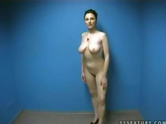 Hot and curvy amateur momma strips in front of the camera and shows her naked body in order to make guys lusty and gives head on her amateur porn clip