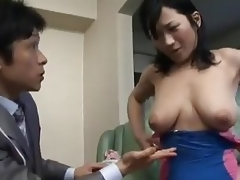 Japanese Mom Tempted By Salesman - Cireman