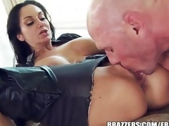 Ava Addams is a good pussy cat