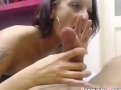 Mature Prostitute admirable blowjob