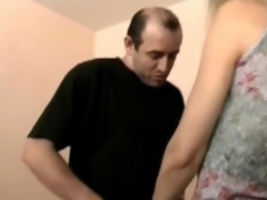 Cougar fair-haired gets fucked in stockings