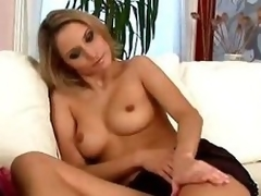 Milf Leticia reveals diminutive frame and bonks big sex-toy