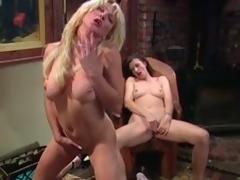 Big tittied MILFs masturbate research a piano lesson