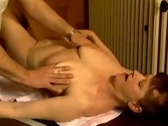 Adult wench Stephanie seduces a masseur and fucks him