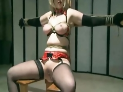Tied Milf Spanked And Toyed