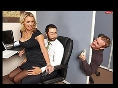 Tanya is in love with her co-worker Pete and tries to hook up with him every chance this chick gets. The merely problem is TJ, the knob blocker of the office will at no time let him have her.